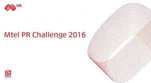 mtel pr challenge 2016